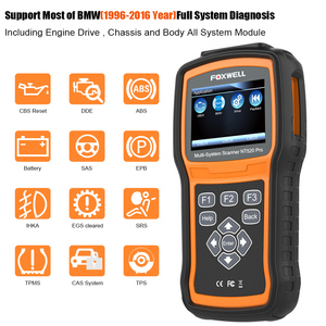 Image 2 - Foxwell NT520 PRO Full System OBD2 Scanner ABS SRS SAS BMS DPF EPB Oil Reset Injector Coding Auto OBD ODB 2 Car Diagnostics Tool