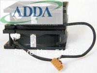 2 pcs um par PARA ADDA PARA ADDA 12 V 0.45A 0.12A fã de um 8025 CENTÍMETROS 80 8mm AD0812UB-A73GL