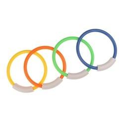 1 stücke Schwimmbad Unterwasser Tauchen Ringe Kinder Kinder Dive Ring für Sommer Strand Wasser Spielen Spielzeug Pool Zubehör Zufällig farbe