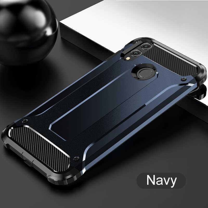 Híbrido armadura Dropproof para Huawei P30 P20 Pro P10 P8 P9 amigo 20 Lite P Smart 2019 más Honor 10 PC de nivel militar + cubierta de TPU