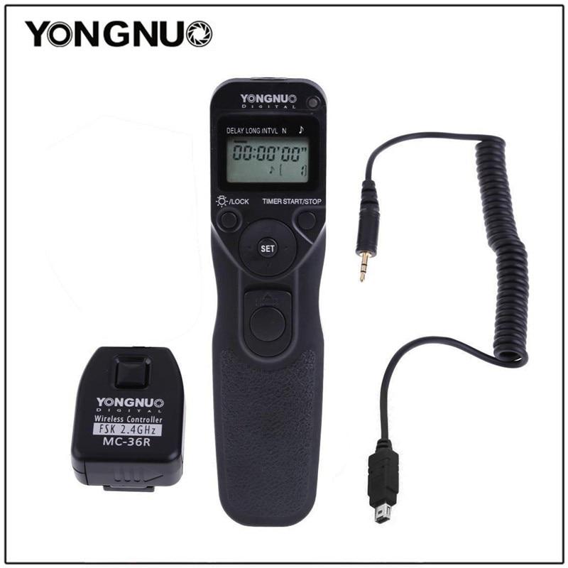 Yongnuo MC 36R cordon sans fil pour Nikon pour CANON 7D, 50D, 40D, 30D, 5D, 20D, 10D, 5D Mark II, 1 DMark IV, EOS 3, D2000-in Déclencheur from Electronique    1