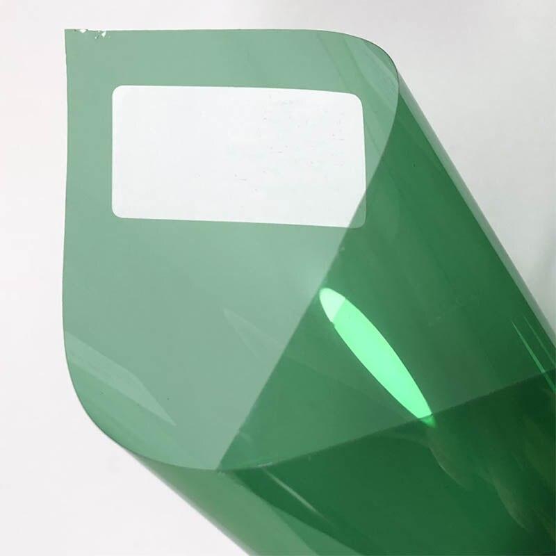 1 шт. 50*300 см 2 слоя светильник зеленый Окно Оттенок пленка для защиты от солнца для автомобиля домашний мини-фигурок