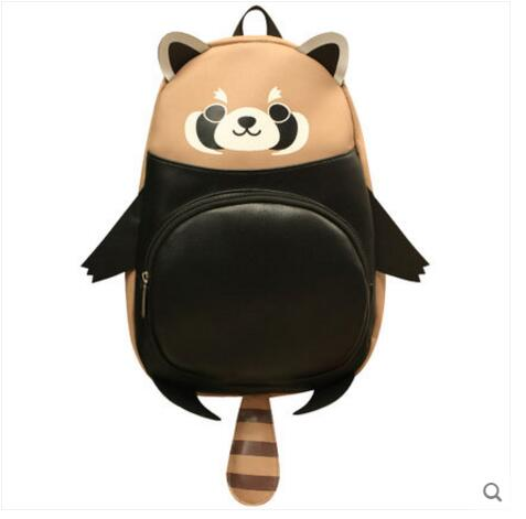 2017 New Shoulder Bag Japanese Soft Sister Cute Cartoon Animal Panda Cartoon Around School Bag Female Backpack