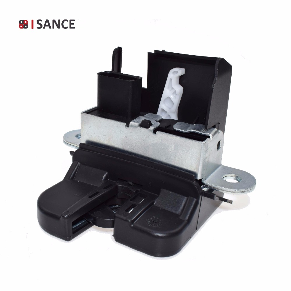 ISANCE Tailgate Trunk Lid Lock 1T0827505H 5P8827505B For VW TOURAN Mk1 Mk2 2003 2015 SEAT ALTEA