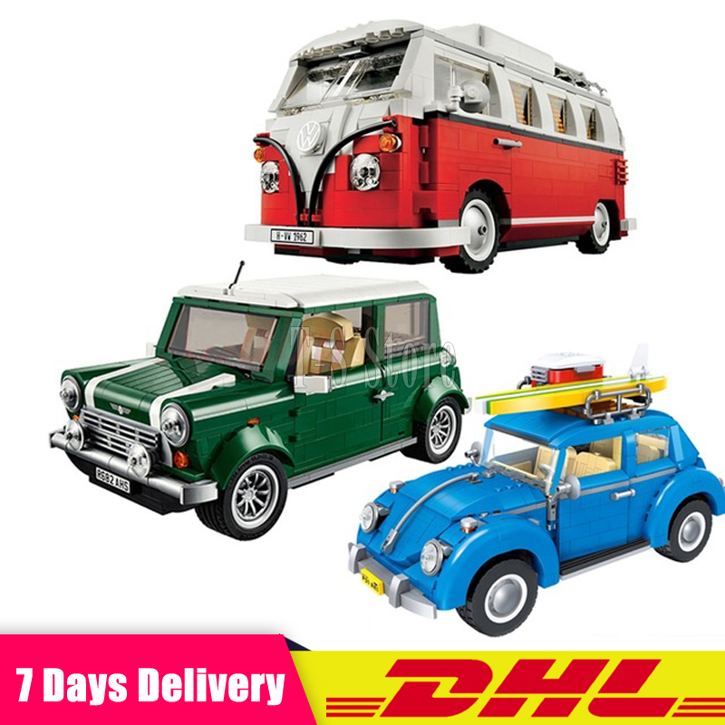 2018 DHL LEPIN Technic series 21001+21002 +21003 Assembling Building Blocks Bricks Model Toys For Children Best Gifts lepin 21003 series city car beetle model building blocks blue technic children lepins toys gift clone 10252