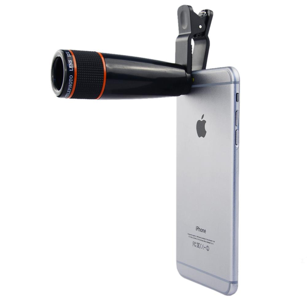 apexel 12x zoom telephoto lens
