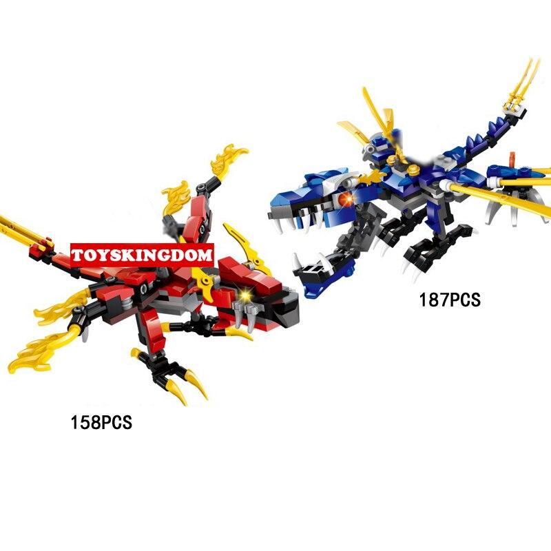Горячая ниндзя небесно-Dragon Knight Go Building Block Kai Jay Doll Кирпичи игрушки для детей Подарки