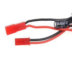 Image 5 - 10A Brushed ESC Two Way Motor Speed Controller Mit Bremse Für 1/16 1/18 1/24 RC Auto Boot Tank Drone zubehör Teile Kits F05428