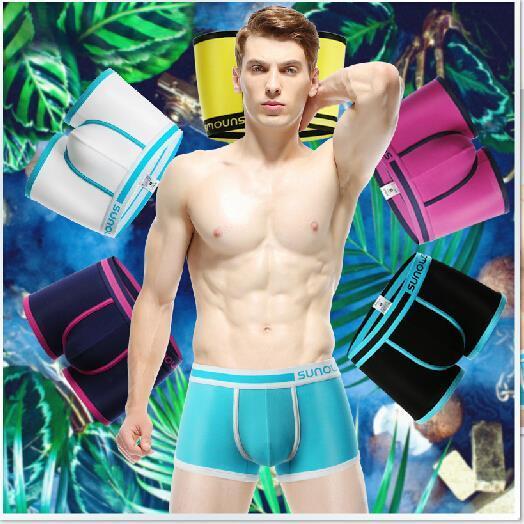 MARCA de algodón Para Hombre Boxer Shorts/Ropa Interior Hombre/Sexy Boxer Short Sexy Ropa Interior adicto