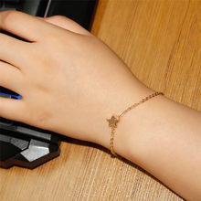 Charmsmic Gold Silver Lucky Star Bracelets For Girls Children Birthday Gift Simple Design Women Summer Jewelry Gifts(China)