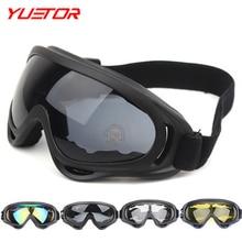 Brand Yuetor wind protect motorcycle glasses 3 colors snowboard men women snow ski glasses outdoor ski eyewear