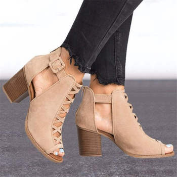 2019 Fashion Spring/Autumn Women Shoes High Heels Single Shoes Woman Pointed Toe Sandals Women zapatos de mujer 1