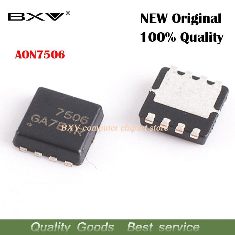 5pcs AON7506 AO7506 7506 MOSFET QFN-8 New Original Free Shipping
