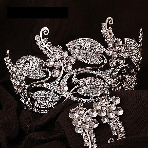 تيجان ملكية  امبراطورية فاخرة 2017-Hot-European-font-b-Royal-b-font-Crowns-font-b-Wedding-b-font-font-b