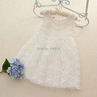 E Babe Wholesale Baby Girls Dress Summer New Girl Lace Belt Tulle Cotton Party TUTU