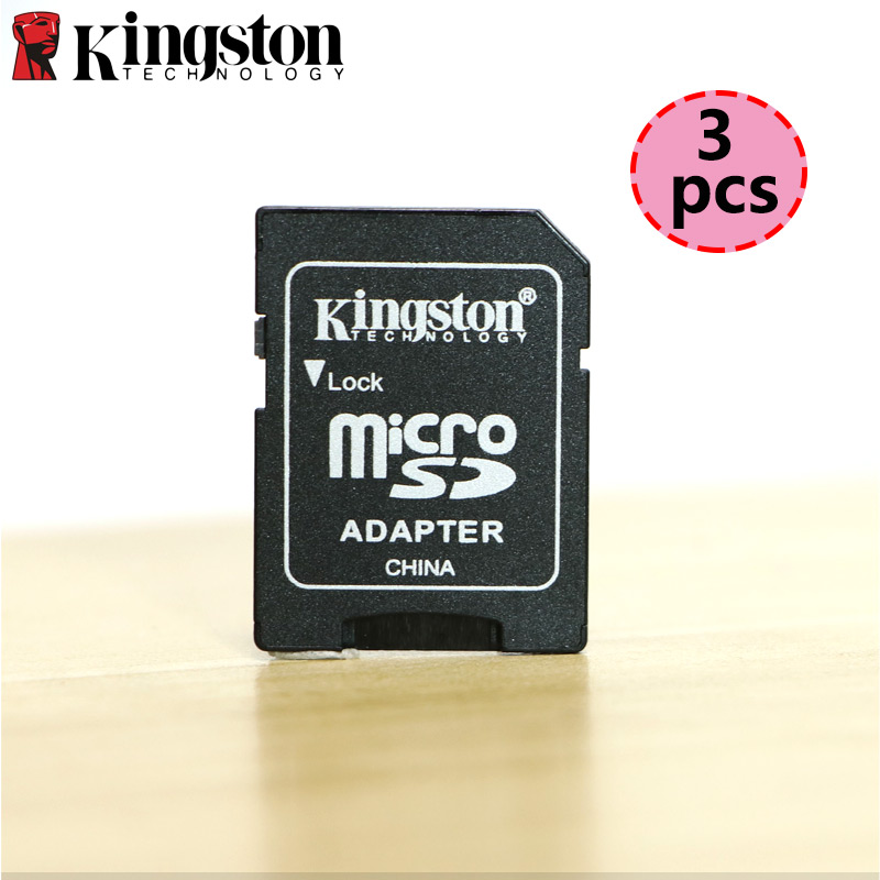 3 Pcs Kingston Micro SD Adapter Mini Card Micro SD TF To Memory Stick SD Card Reader For Sony Sport Camera Adapter Converter