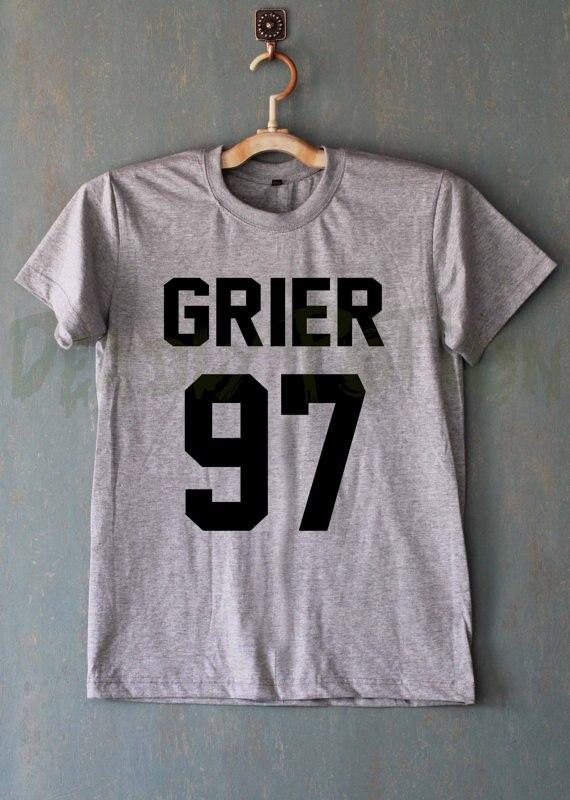 Nash Grier Shirt Magcon Jongens Shirt T-shirt T-shirt T-shirt T-shirt - Dameskleding