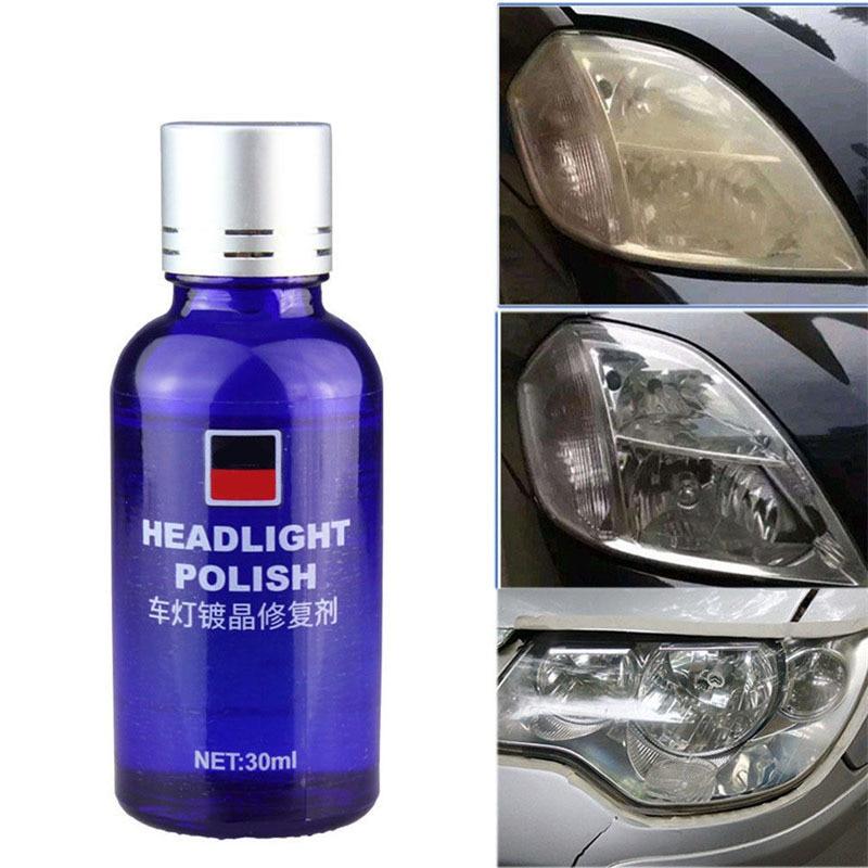 Car Auto Headlight Renovation Repair Agent 9H Hardness Car Coating Repair Set Liquid Scratches Oxidation Polishing Coat