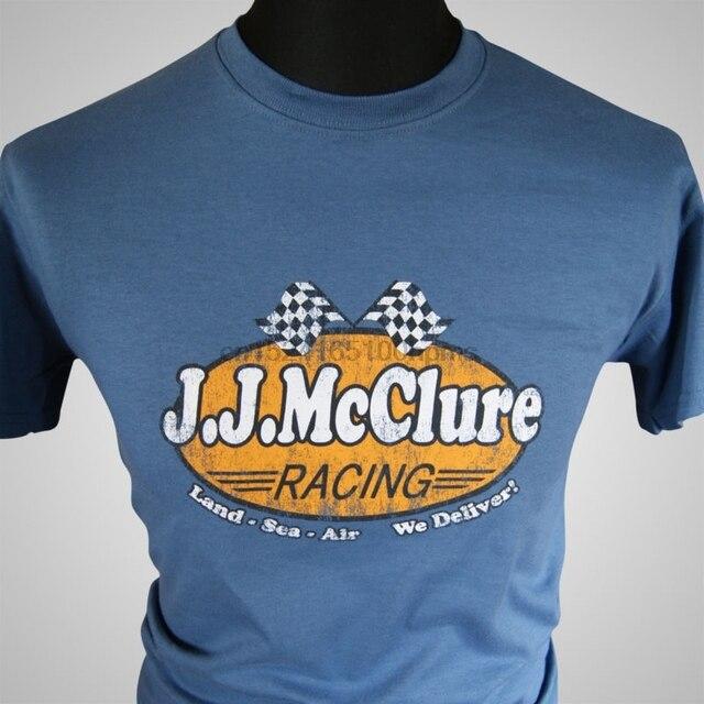 bd331d2d6ba J J McClure Racing Retro Movie T Shirt The Cannonball Run Burt Reynolds