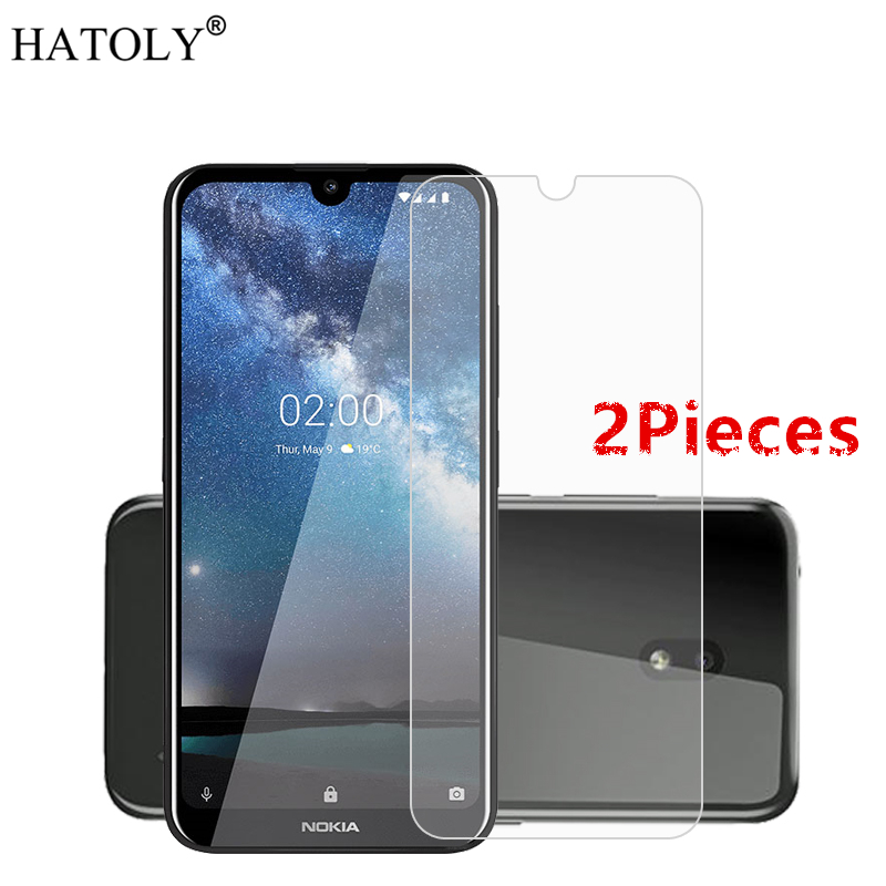 2PCS Tempered Glass for Nokia 2.2 Film Protective Hard Phone Screen Protector