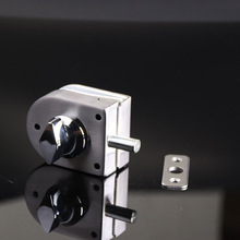 цены Stainless Steel Security Door Lock Safe Lock European Style Glass Door Handles Privacy Door Keyless Lock Knobs