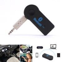 3.5mm jack bluetooth aux áudio música receptor bluetooth carro kit sem fio alto falante fone de ouvido adaptador mãos livres para xiaomi iphone|hands free|bluetooth aux|car kit -