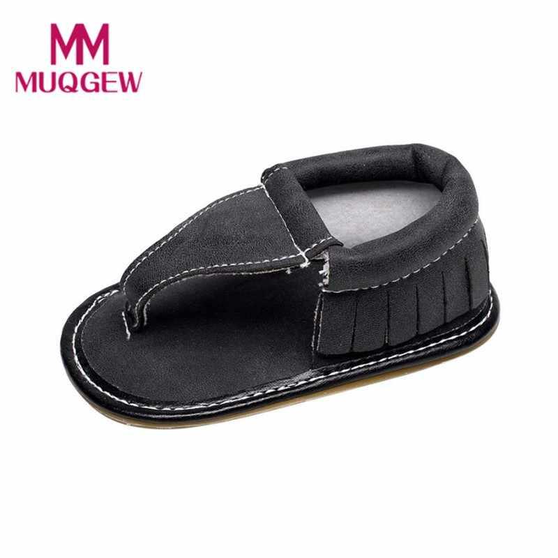 Muqgew унисекс детская одежда для девочек Летняя обувь детская обувь мини Мелисса Мокасины летняя одежда для девочек обувь 2017 резинка Твердые #@&