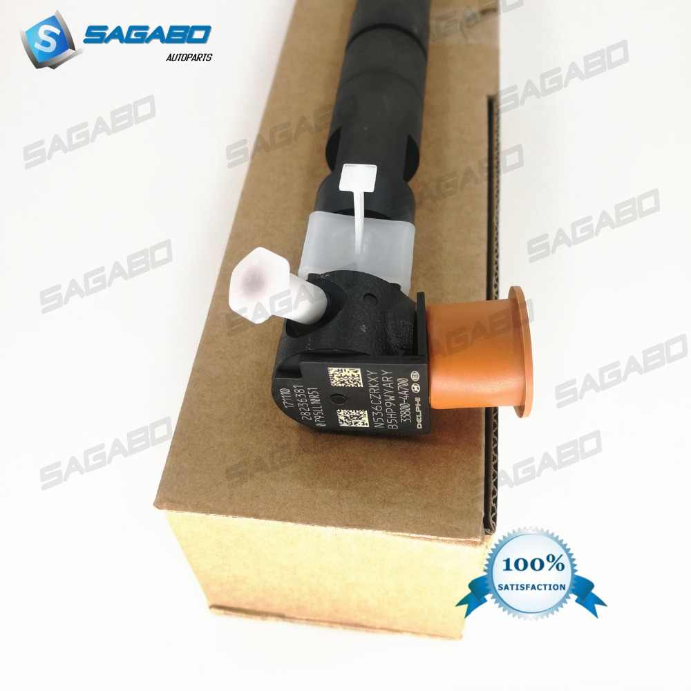 New diesel injector 28236381 33800-4A700 FOR H1/Starex 2.5D D4CB, i800, iLOAD, H300, CRDi, A2, VGT, Euro 5, H-1