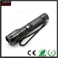 Promotion 93% E17 CREE XM L T6 3800Lumens Zoomable cree LED Led Flashlight Torch light For 3 x AAA or 1 x 18650 camping