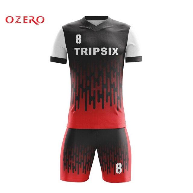 Completo sublimados fútbol tailandés calidad nuevos hombres azul Rosa  deporte fútbol uniformes personalizados caf3f1e8479af