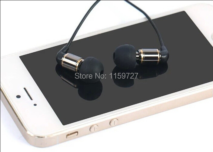 ФОТО Hisoundaudio BA100 in-ear earphone earbud earphone with BAT driver for smartphone * new * promotion * free shipping