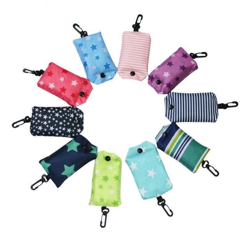 1 Pcs Frauen Einkaufstasche Faltung Tragbare Multifunktions Reusable Tote Gemüse Hand Tasche Veranstalter Tasche Ein Unbestimmt Neues Erscheinungsbild GewäHrleisten