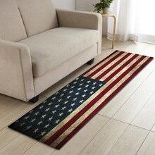 Американский британский длинный кухонный коврик, флаг России, Израиль, кухонные коврики для приготовления пищи, напольный коврик для ванной, коврик для входной двери