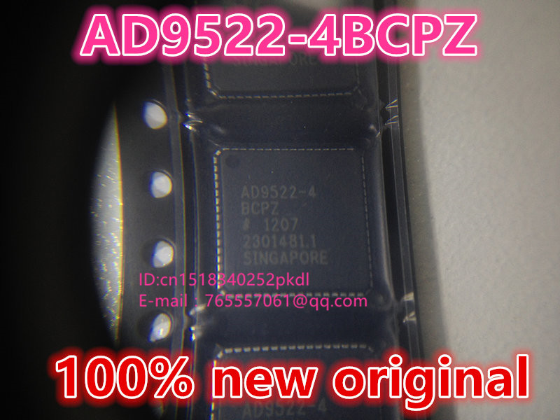 100%New original   AD9522-4BCPZ   LFCSP-64  IC chip 100%new original b2415s 2w ic chip 10pcs