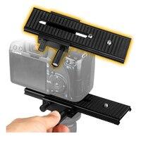 LP 01 2way Macro Shot Focus Rail Slider Tripod Stabilizer Holder For Canon Nikon Sony Pentax