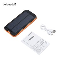 10000mAh Tollcuudda LHSJ01 Ultra Light External Battery Power Bank Portable Double USB Interface Fast Charger PowerbankFor