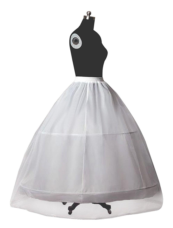 ٩(^‿^)۶Enagua nupcial de la crinolina para el vestido de boda de las ...