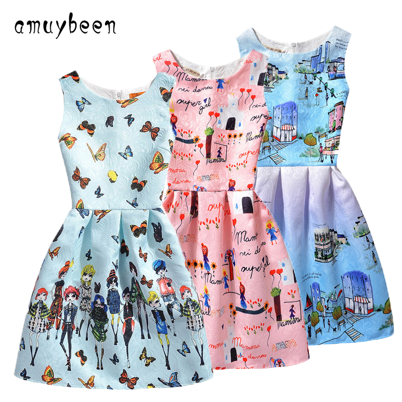 Подробнее о Amuybeen 2017 Wedding Sundress Summer Dress For Girls Kids Clothes Teenagers Baby Girl Flower Party Dresses For 9 10 12 Years 01 flower girl dresses for kids new girls summer full dress for party and wedding teenagers sundress fancy clothes princess costume
