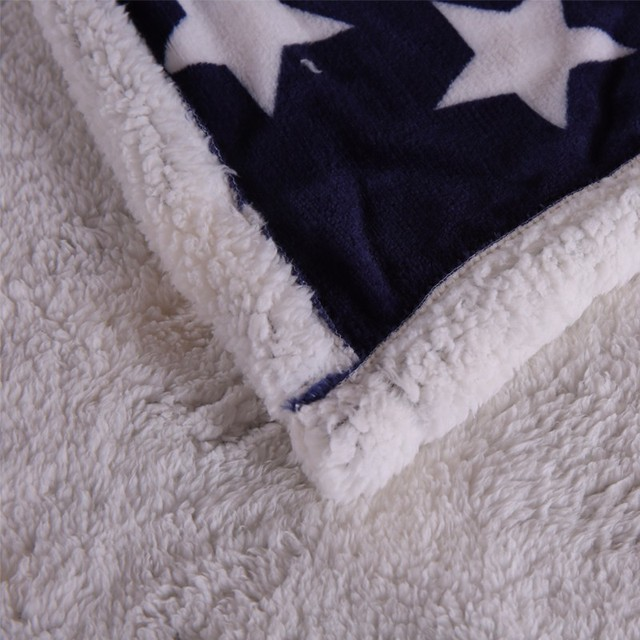 American  BRITISH Throw Blanket 5
