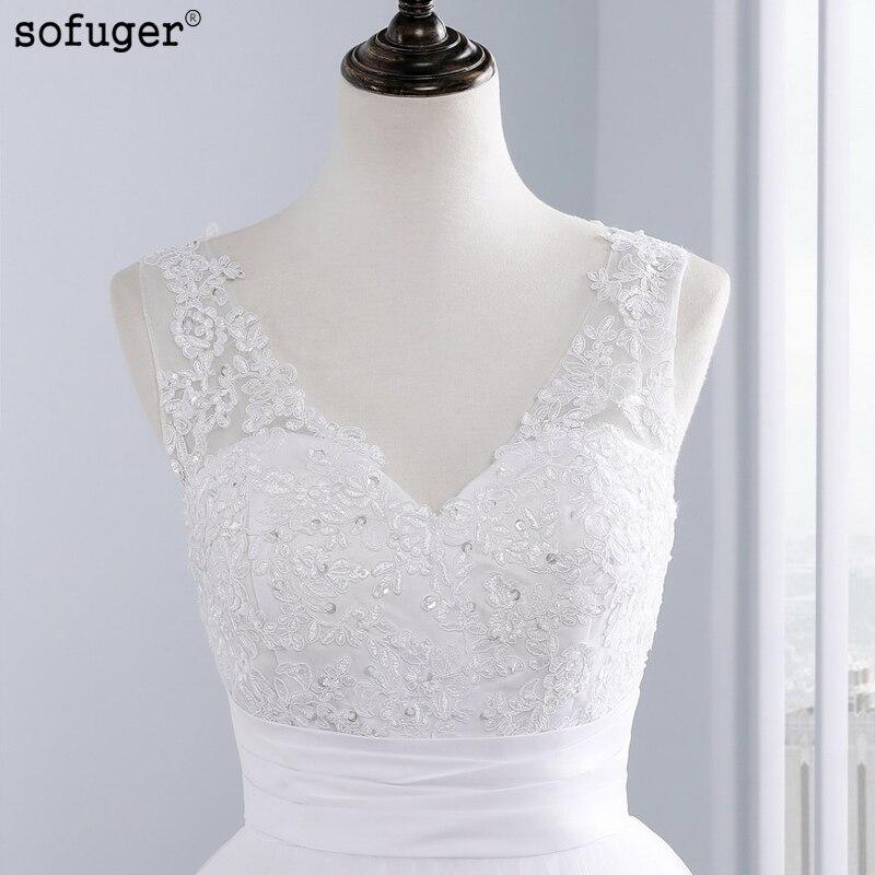 ③custom made vestido de novia free bolero 2016 white/ivory satin