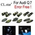 24pc X canbus Error Free  LED Lamp Interior Light Kit Package for Audi Q7 (2005-2014)