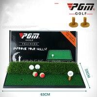 PGM Golf Double Grass Hit Cushion Swing Cushion Indoor Practice Cushion Golf Hit Cushion PKDJD005