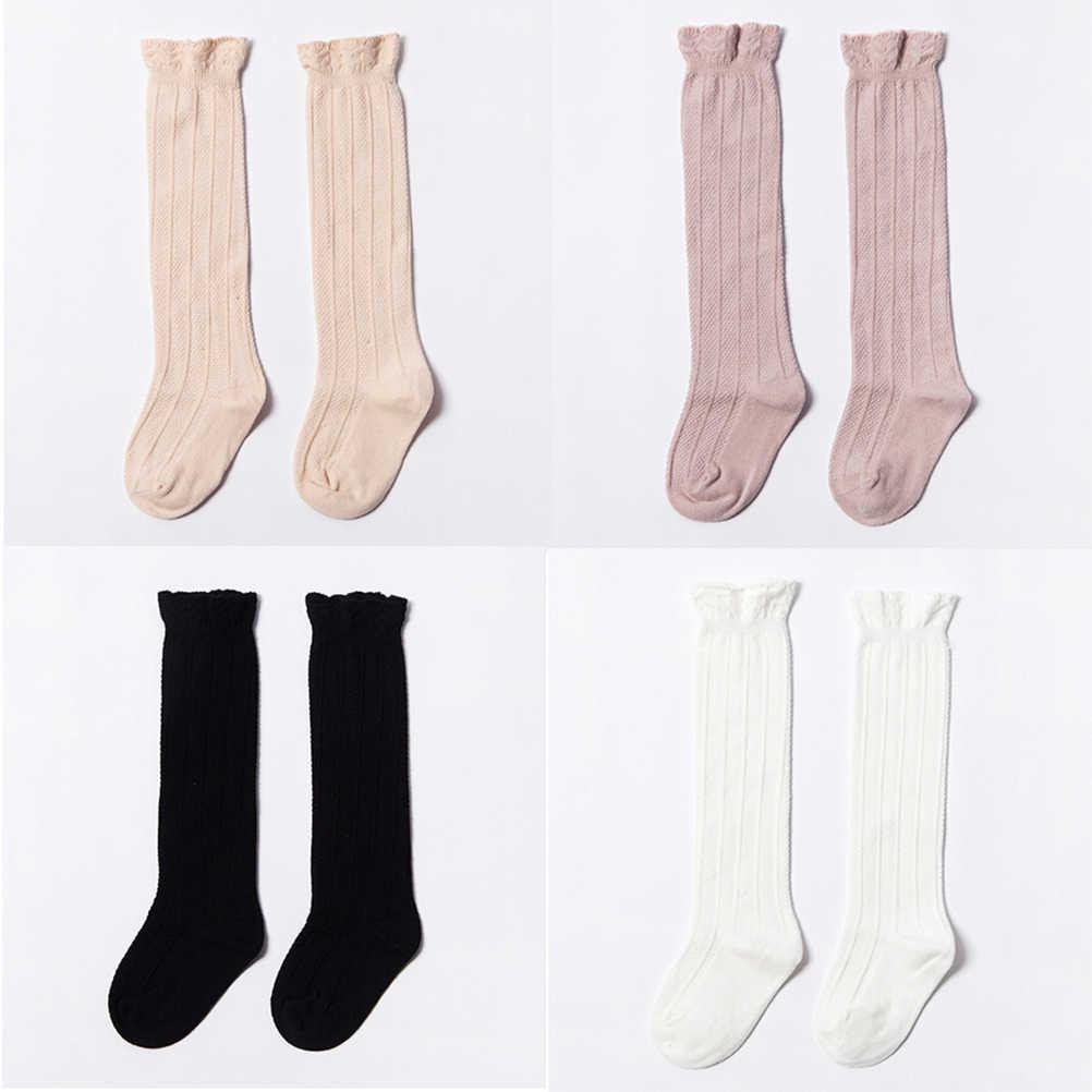 Niedlich Beinlinge für Neugeborene Infantile Fuchs Socken Herbst Baby Kind Socken für Mädchen Neugeborenen Kleinkind Knie Hohe Spitze Socke lange Mädchen