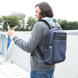 Image 5 - ARCTIC HUNTER 15.6inch USB Waterproof Laptop Mens bag Sport Travel Business Notebook Male Backpack Schoolbag Pack Mochila Bolsa