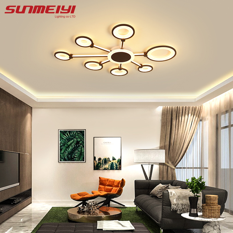 Modern LED Ceiling Lights With Remote Control Living Room Lighting Fixture For Home Bedroom Kitchen lampa sufitowa Room LightModern LED Ceiling Lights With Remote Control Living Room Lighting Fixture For Home Bedroom Kitchen lampa sufitowa Room Light