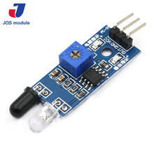 Electronics for Arduino Diy Smart Car Robot Reflective Photoelectric 3pin IR Infrared