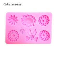 Wholesale Silicone mold K223 Mini Gem jewelry shape Clay Craft mold Decoration Fondant cake mold Baking mold