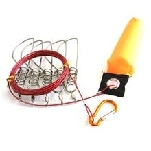 Рыбный блок рыболовная палка крест из нержавеющей стали рыбная Пряжка приманка инструмент снасти с плавающей живой рыбы замок ремень