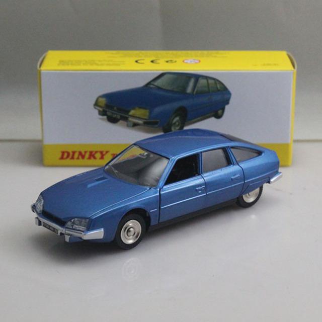 Atlas 1:43 juguetes Dinky 011455 CITROEN CX Pallas Modelos Diecast Coche de Edición Limitada Azul