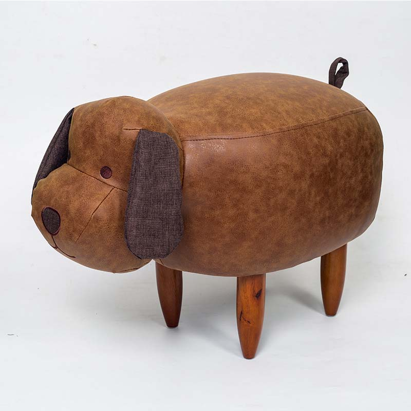 Chpermore Cute animal dog hippo Children Ottomans Kindergarten Kids shoe bench Multifunction Simple Chair